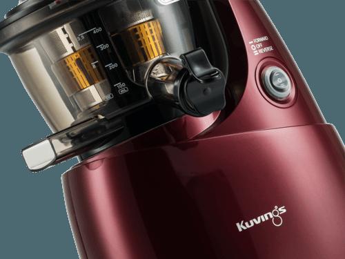 Slow Juicer Romania : Storcator prin presare la rece Kuvings slow juicer B6000PR, rosu din categoria Produse Kuvings