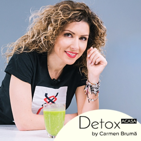Reintră în formă cu Detox Acasă by Carmen Brumă