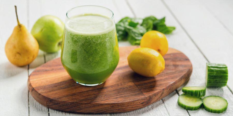Reteta suc verde pentru imunitate