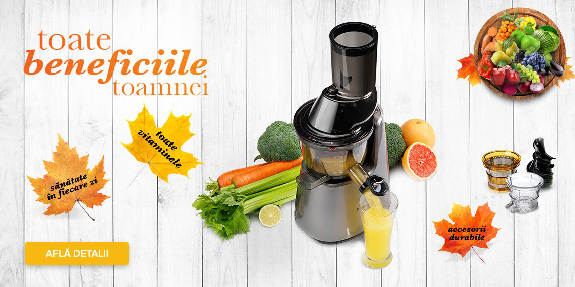 Slow Juicer Romania : Kuvings Romania